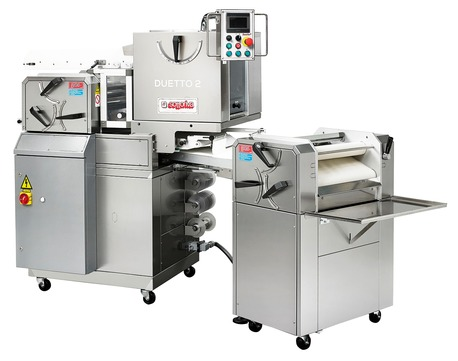 DUETTO 2 - DUETTO 2/S Automatic units for rolled bread, long loaves and ciabatta