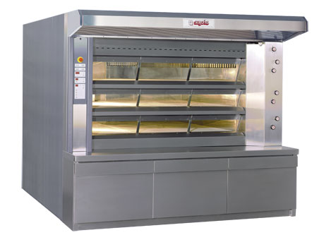 ANTARES Steam tubes deck oven