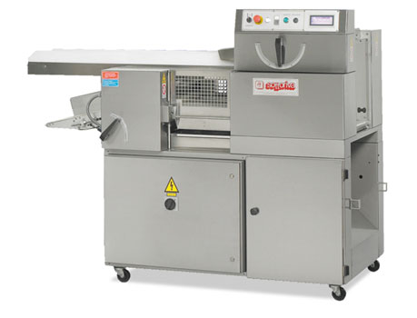 TECNA 240: Divider for ciabatta with automatic tray device