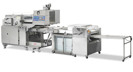 ZENIT Automatic unit for rolled bread, long loaves, ciabatta and zoccoletti for big productions with